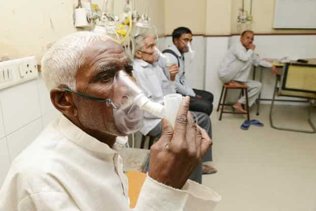 According to the World Health Organisation, in 2016, India had an estimated 2.79 million cases of TB.  File photo: Ramesh Pathania/Mint