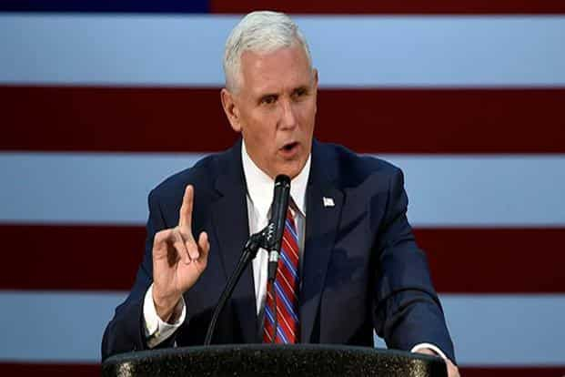 For too long Pakistan has provided safe haven to the Taliban and many terrorist organisations but those days are over, says US vice president Mike Pence. Photo: Reuters