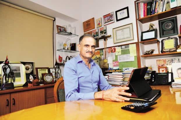Vikram Bakshi, managing director of Connaught Plaza Restaurants Pvt. Ltd, the joint venture partner of McDonalds Corp. in north and east India. Photo: Priyanka Parashar/Mint