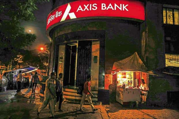 Financial figures pertaining to Axis Bank results were either identical or matched closely with the figures that were circulating on WhatsApp. Photo: Bloomberg