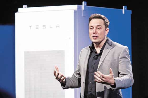 Elon Musk had said in April that the pickup truck would be unveiled within 18 to 24 months. Photo: Bloomberg