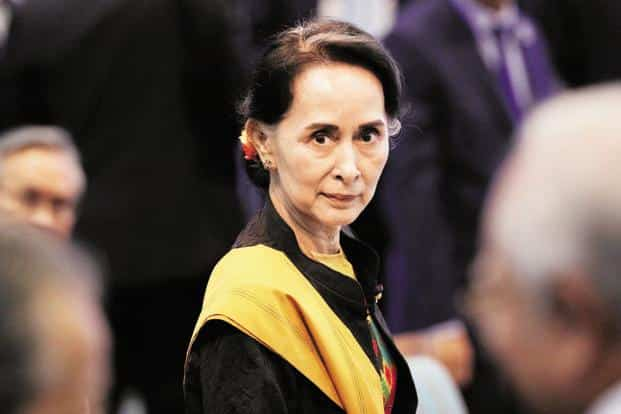 The Rohingya crisis overwhelmed Aung San Suu Kyi, once a global icon of the democratic struggle against Myanmar's military regime. Photo: Reuters