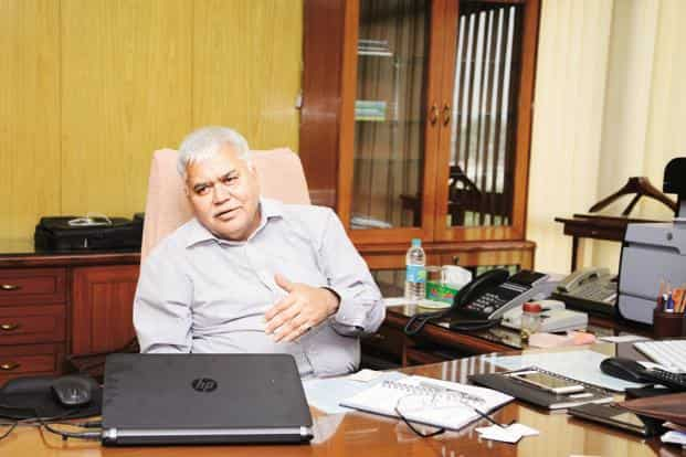 Trai chairman R.S. Sharma. Photo: Ramesh Pathania/Mint