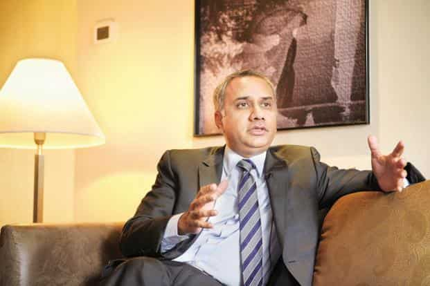 Infosys CEO Salil Parekh has been handed out an annual pay package that is much lower than what was paid out to his predecessor Vishal Sikka. Photo: Abhijit Bhatlekar/Mint