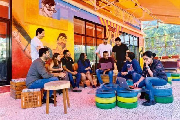 The Yoodlee team in their Mumbai office. Photo: Aniruddha Chowdhury/Mint