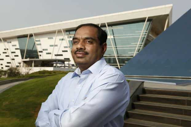 A file photo of former Infosys chief financial officer V.Balakrishnanon. Photo: Bloomberg
