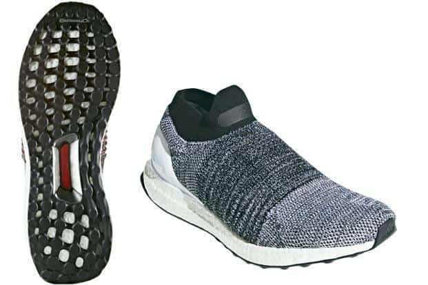 621077f6f ... Adidas UltraBoost Laceless also relies on some strategic stitching in  an arc around the mid-