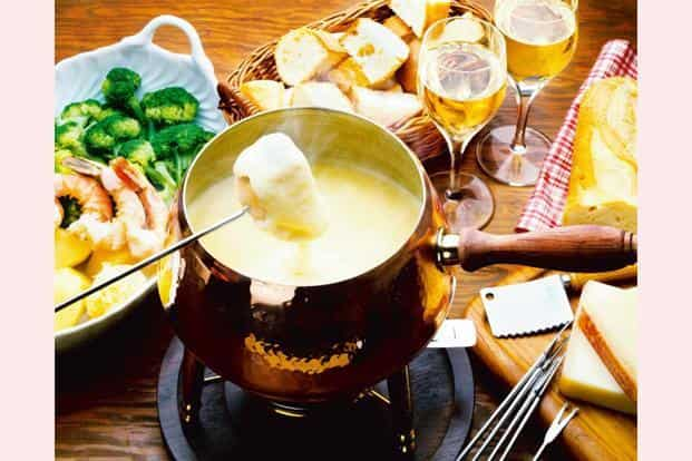 The cheese fondue is Switzerland's contribution to the culinary world. Photo: iStockPhoto