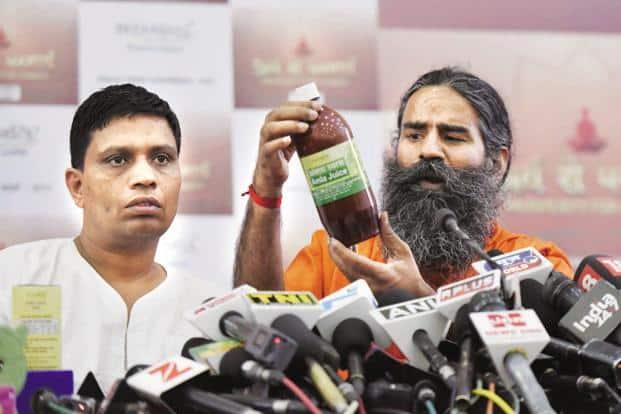 Baba Ramdev had on Tuesday predicted Patanjali will overtake Hindustan Unilever in India next year. Photo: Hindustan Times