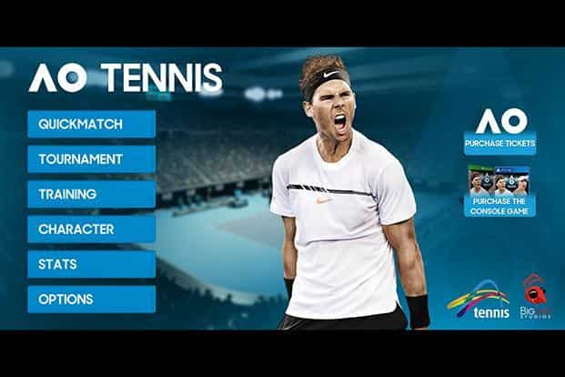 Big Ant revives tennis fanfare with 'AO Tennis' game