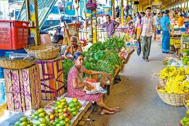 A fruit and vegetable market in Pettah, Colombo. Photo: iStockphoto