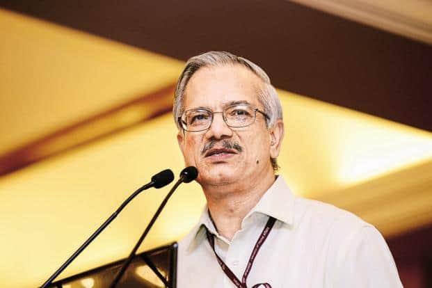 Civil aviation secretary Rajiv Nayan Choubey. Photo: Ramesh Pathania/Mint