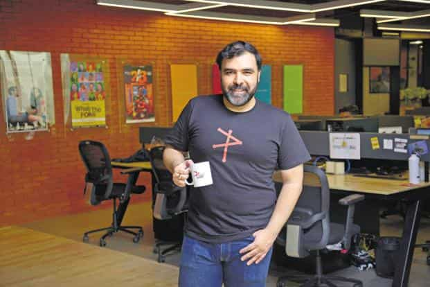 Pocket Aces co-founder Anirudh Pandita. Photo: Abhijit Bhatlekar/Mint