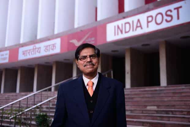Anant Narayan Nanda, chairman of India Posts Payments Bank. IPPB is planning to open 3,250 customer access points across 650 districts by the time it launches operations in March 2018. Photo: Pradeep Gaur/Mint
