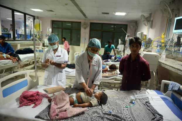 The National Health Mission has been focused on improving infrastructure and access since its inception, but public healthcare facilities remains the last resort for most people. Photo: AFP