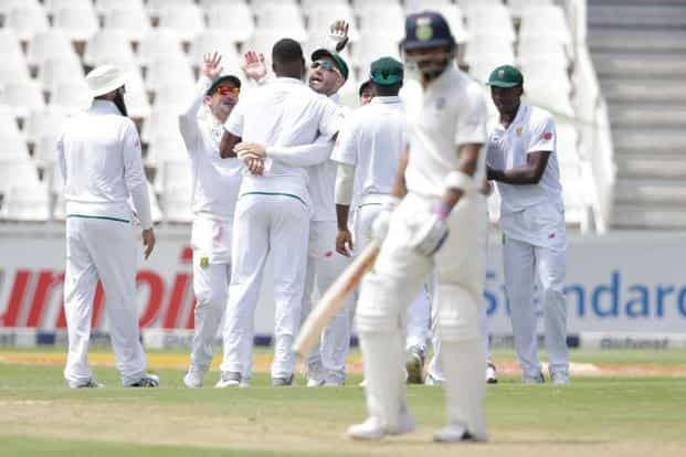 If India loses the Wanderers Test, South Africa will reach within kissing distance of the No.1 spot in ICC Test rankings, and India would've reaffirmed its reputation of underperforming overseas. Photo: AFP