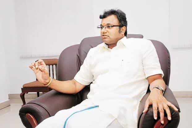 The lookout notice was issued on 16 June and prevented Karti Chidambaram from leaving the country so that he could be present to participate in the ongoing investigation against him. Photo: Mint