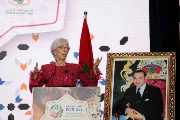 At 3.5% in 2018 and 2019, forecast annual growth in the Arab world is well below the average 5.6% achieved during 2000-2008, IMF MD Christine Lagarde said. Photo: Reuters