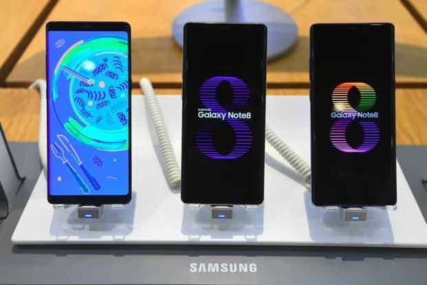 While Samsung remains the world's biggest smartphone maker, it has fallen out of the top 5 in China and is being challenged by Xiaomi Corp. in India, the two most populous nations. Photo: AFP