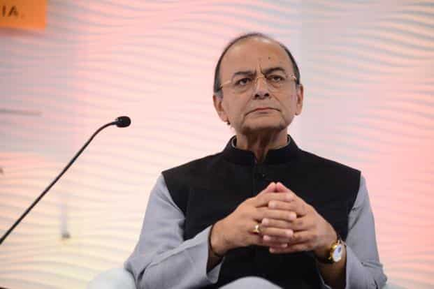 Arun Jaitley also noted that use of fintech in financial services will help the growth of micro, small and medium enterprises (MSMEs). Photo: Pradeep Gaur/Mint