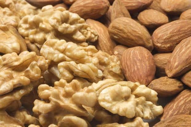 Nuts are rich in vitamin E, magnesium, copper, and fibre. Photo: iStockphoto