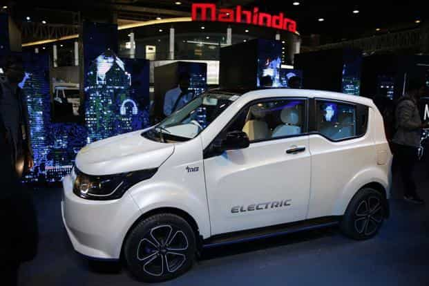 Mahindra Electric Suv Ekuv 100 Is Displayed At The Auto Expo In Greater Noida On Wednesday