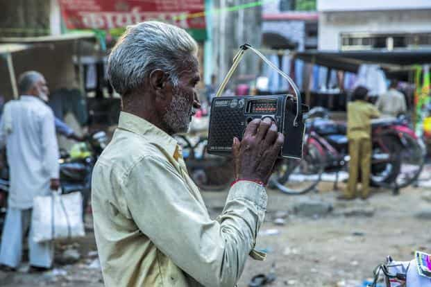 Most people access radio through mobile phones. While only 7% people in metros access radio using the traditional radio set, more than half use radio sets in non-metro cities.