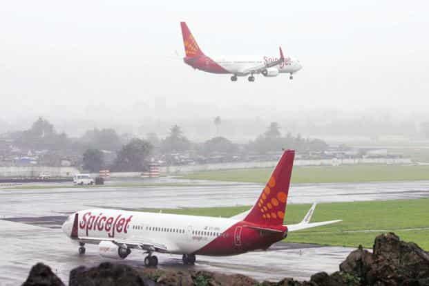 Spicejet's net income from operations rose 29% to Rs2,065 crore. Photo: Reuters