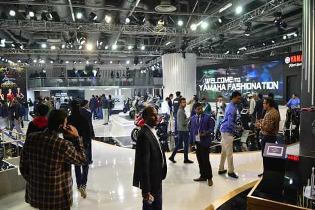 This is the second day of the Auto Expo 2018. Photo: Ramesh Pathania/Mint