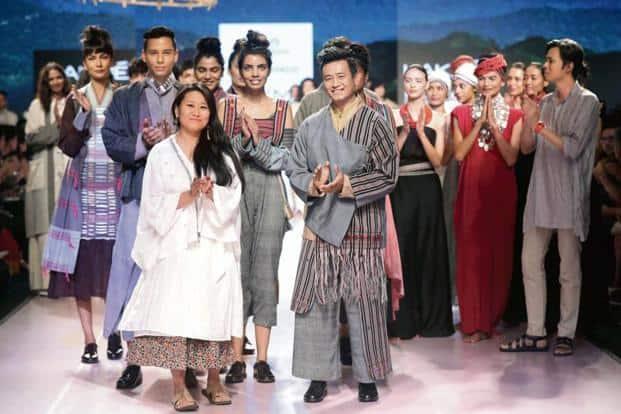 Karma Sonam with Bhaichung Bhutia.