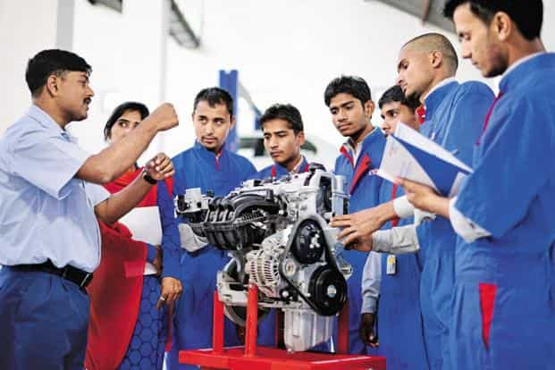 There are 13,912 ITIs across the country fulfilling the vocational needs across various sectors. Photo: Pradeep Gaur/Mint