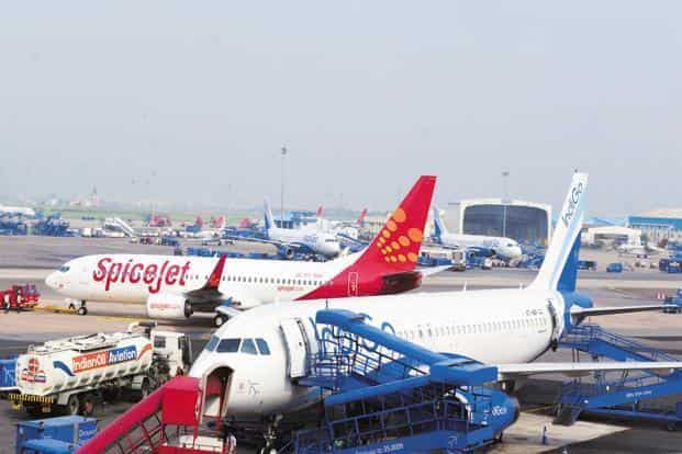 The Delhi HC order came on IndiGo and SpiceJet's plea challenging its order upholding Delhi airport's decision to partially shift the operations of private carriers IndiGo, GoAir and SpiceJet from T-1 to T-2 at the airport. Photo: Ramesh Pathania/Mint