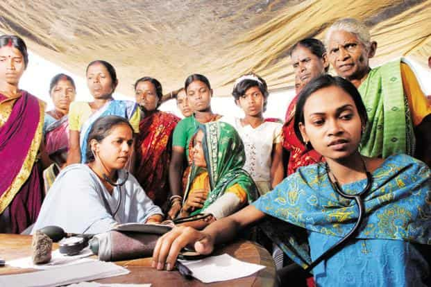 The fundamental problem in rural healthcare delivery is that health workers do not share data with each other. Photo: Mint