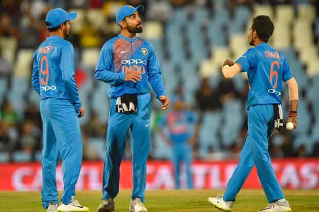 India's tour gained momentum with victory in the Wanderers' Test and then they carried it through the ODI series, romping home with a 5-1 margin. Photo: AFP