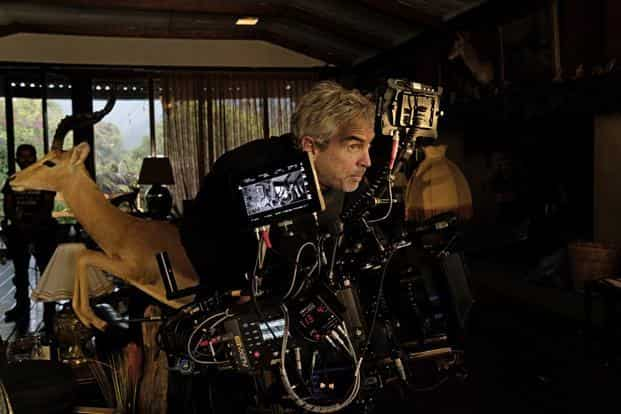 Alfonso Cuarón shooting 'Roma' in Mexico. Photo: Chien-Chi Chang, Magnum Pictures