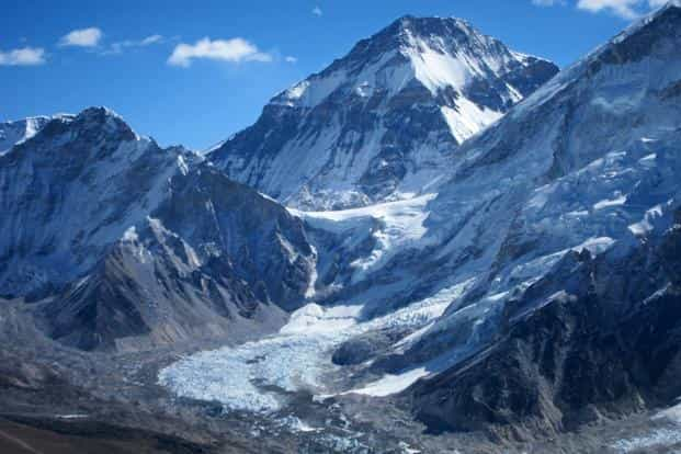 The study warned that rising trends in liquid precipitation have a negative influence on Himalayan glaciers and 'frequency of hazards such as avalanches and landslides is expected to increase during late winter'. Photo: Bloomberg