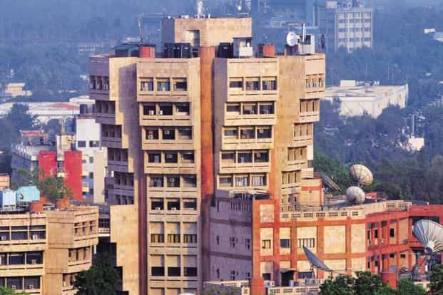 Prasar Bharti building at Mandi House, New Delhi. The post of Rajya Sabha TV's editor-in-chief has been vacant since August 2017 when Gurdeep Singh Sappal stepped down from the position. Photo: Ramesh Pathania/Mint