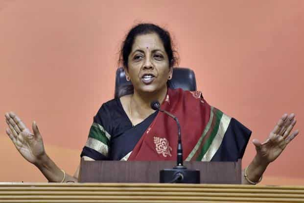 Defence minister Nirmala Sitharaman and Telangana minister for Industries and IT, K.T. Rama Rao inaugurated the Tata Boeing Aerospace facility in Hyderabad on Thursday. Photo: PTI