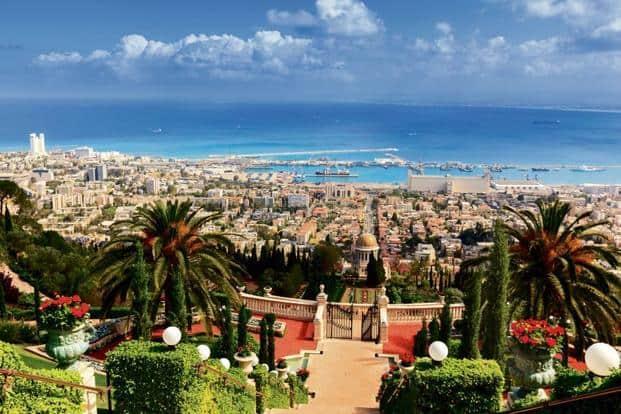 A view of Haifa from the Bahá'í gardens. Photo: iStockphoto
