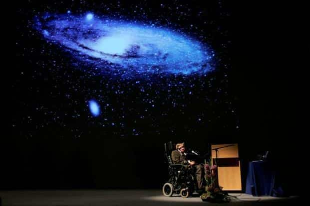 Stephen Hawking's best known work found that black holes should glow, emitting what is now known as Hawking radiation. Photo: Reuters
