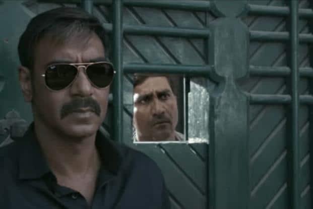 Ajay Devgn in a still from 'Raid'.