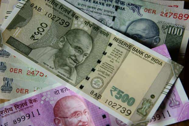 The home currency ended at 64.94 a dollar, down 0.01% from its Thursday's close of 64.93. Photo: Mint