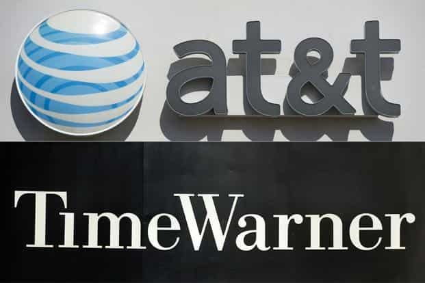 The US Justice Department filed suit in November to block the planned $85 billion tie-up of AT&T, one of the dominant telecom and internet firms, with media-entertainment powerhouse Time Warner. Photo: AFP