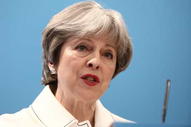 """The confrontation escalated after Theresa May accused Moscow on Wednesday of an """"unlawful use of force"""" involving a weapons-grade nerve agent and ordered out the largest number of Russian diplomats from London in 30 years. Photo: AFP"""