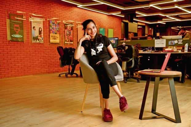 Madhu Gudi, a marketing associate at digital entertainment firm Pocket Aces Pictures. Photo: Abhijit Bhatlekare/Mint