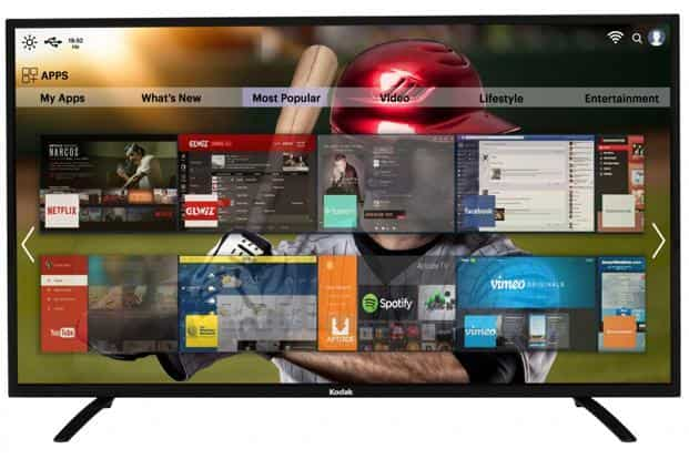 Kodak and Sanyo 55-inch TVs: affordable 4K TV face-off