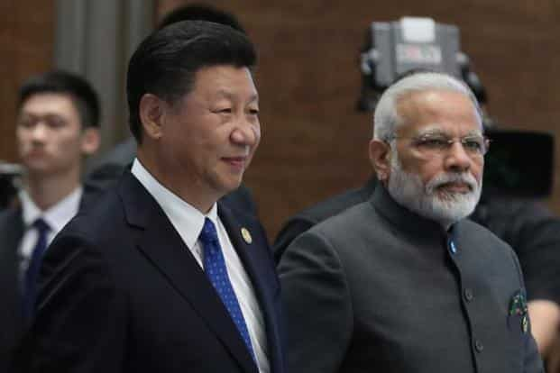 A file photo of Chinese president Xi Jinping  with India PM Narendra Modi. Photo: Reuters