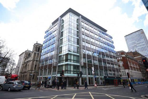 Cambridge Analytica office in London. Photo: AP