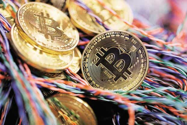 Bitcoin fell as much as 4.5% after the Nikkei first reported the warning on Thursday, and was down 0.2% at 9:31 am in Hong Kong on Friday. Photo: Bloomberg
