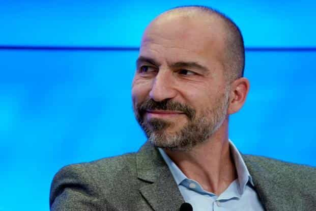 As part of the transaction, Uber will take a 27.5% stake in Singapore-based Grab and Uber CEO Dara Khosrowshahi will join Grab's board. Photo: Reuters